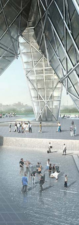 Taiwan tower competition OOIIO
