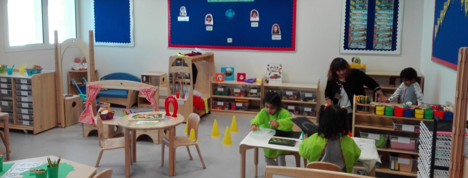Aula de pre-escolar