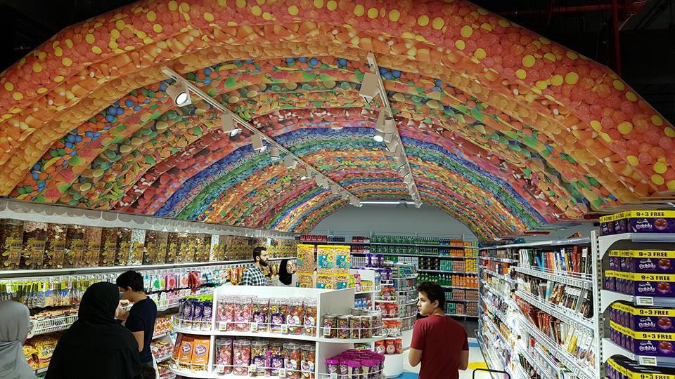 corner de caramelos