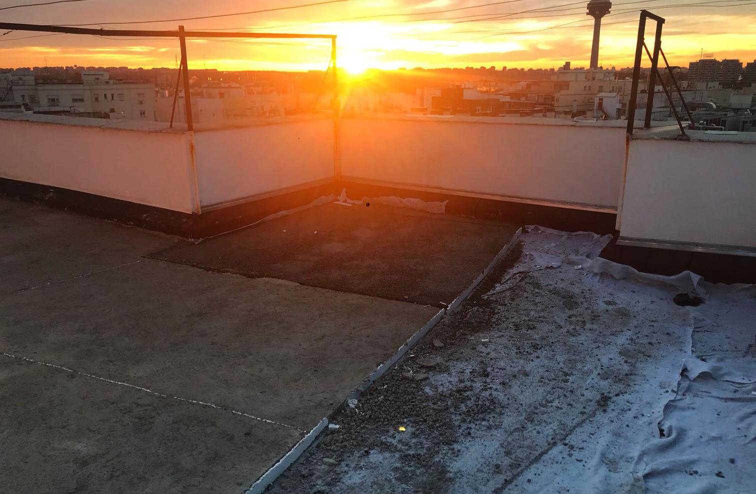under construction penthouse
