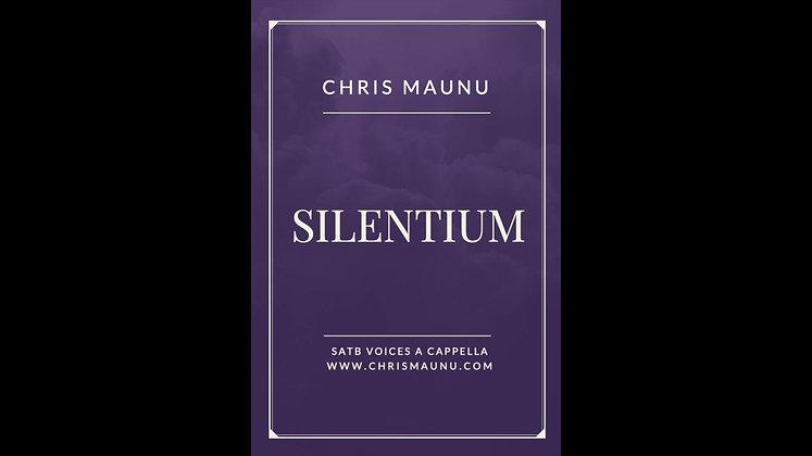 Silentium - SATB a cappella