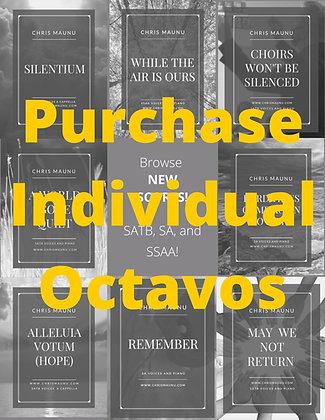 Individual Printed Octavos