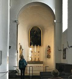 Mary, Undoer of knots, untier of knots, memorial, shrine, knots, Mount Lemmon, Mt Lemmon, chapel, church, byzantine, catholic, Ruthenian, Tucson, Arizona, eastern, orthodox