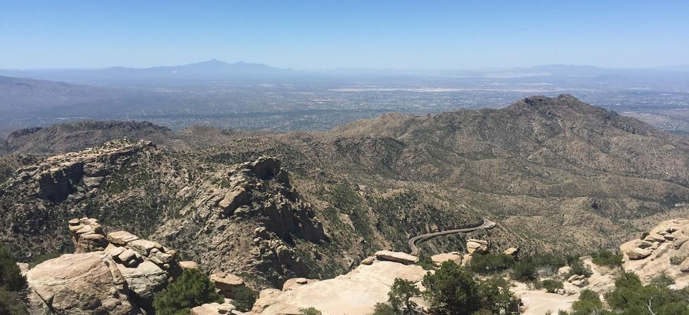 View toward Tucson