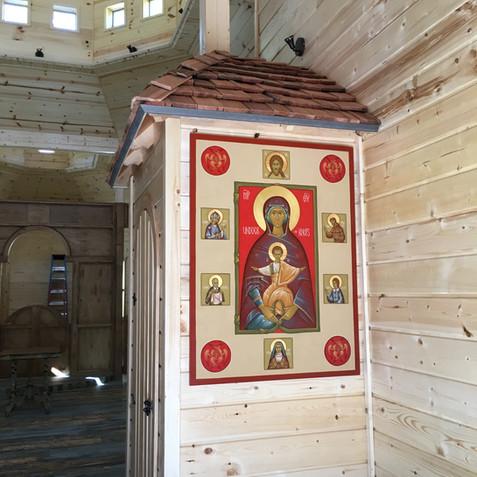 The Chapel Patron Icon of Mary Undoer of Knots