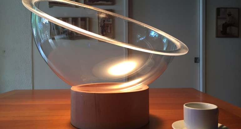 Acrylic Bowl for Scale Dome