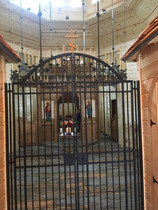 The Choros at Mary Undoer of Knots Shrine