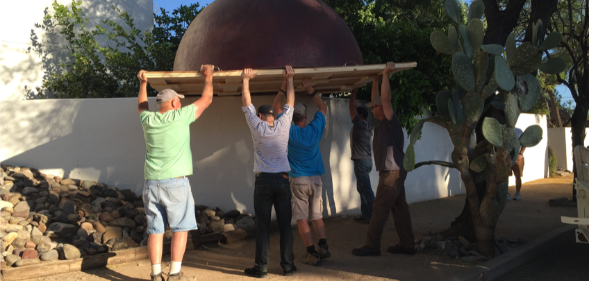 Moving the Dome