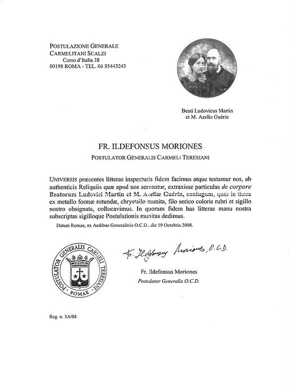 Louis Zelie Relic document.jpg