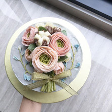 "Student bouquet feature💕 ""Ranunculus is a genus of about 500 species of flowering plants in the family Ranunculaceae.jpg"