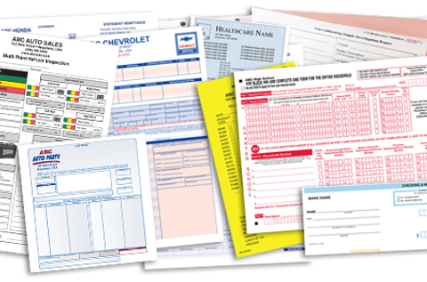 Business Forms NCR