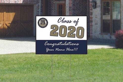 San Juan Hills High School Graduation Sign