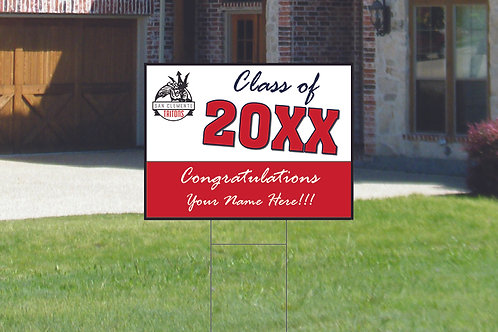 San Clemente High School Graduation Sign