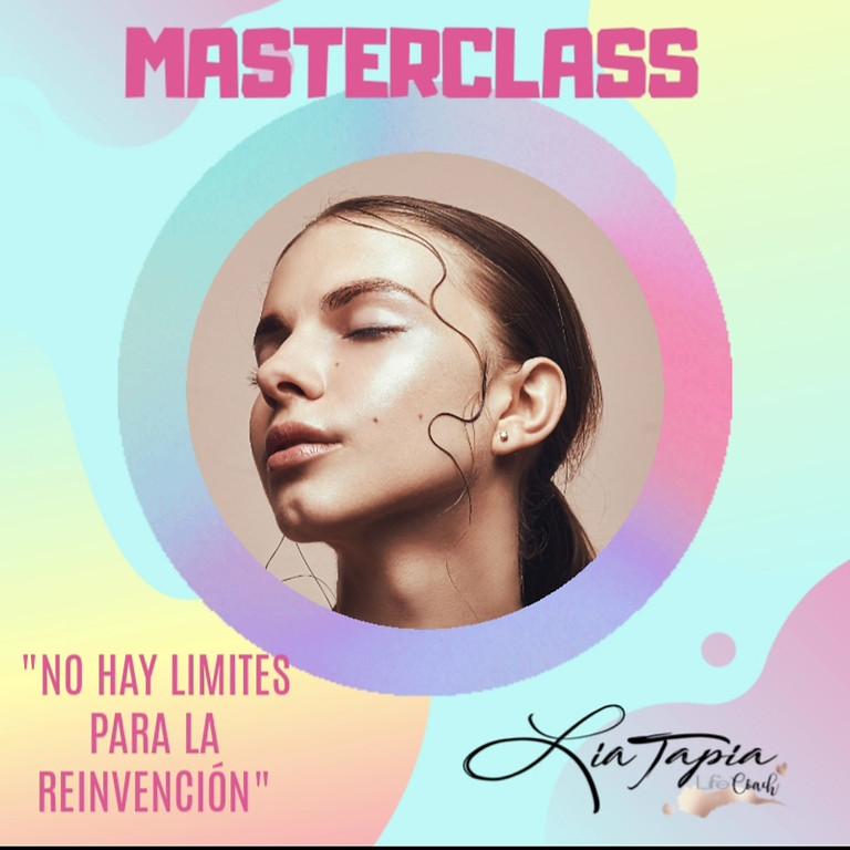 """Masterclass: """"No hay límites para la Reinvención"""" Nueva mentalidad para emprendedoras de hoy (Videoconferencia online)"""