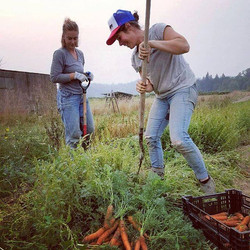 leah and carrots
