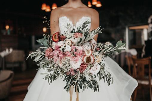 Ramo flores Promethea
