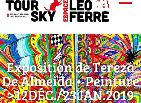 """EXPOSITION de Tereza De Almeida"""