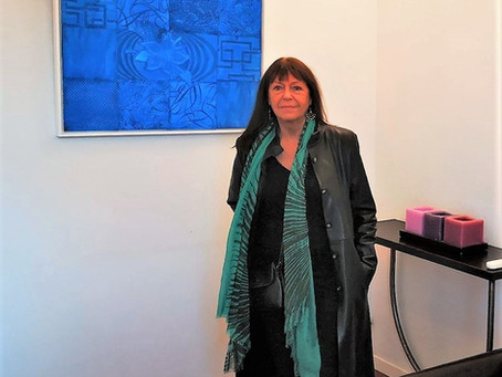 L'artiste du mois : Michèle Rabit