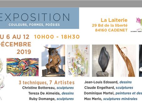 """EXPO : """"Formes, couleurs, poésie"""""""