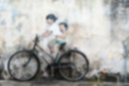 Ernest Zacharevic graffiti. Street art