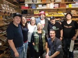 Cigar Box Crew with Fabien