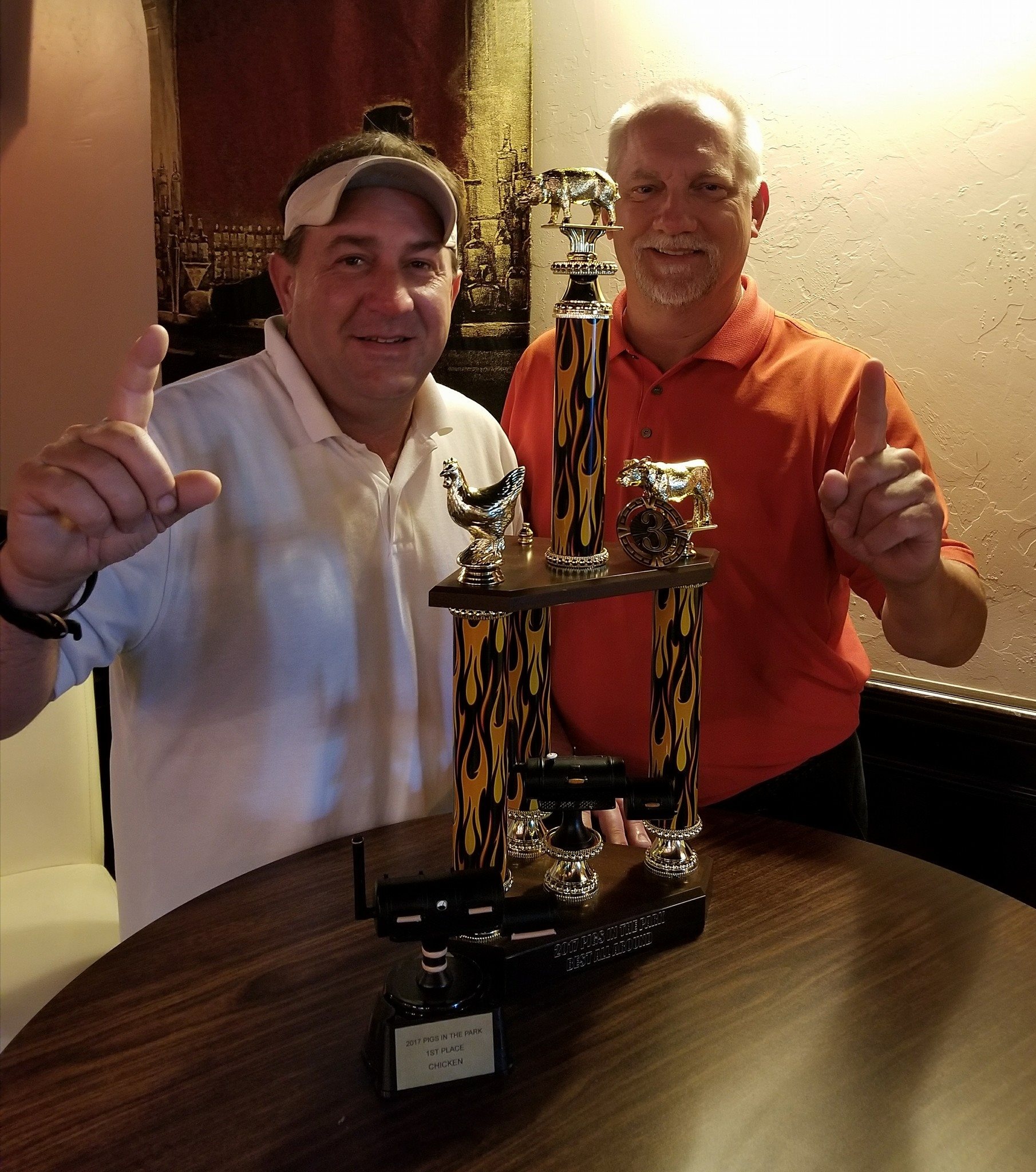 Cigar Box sponsered BBQ champions!