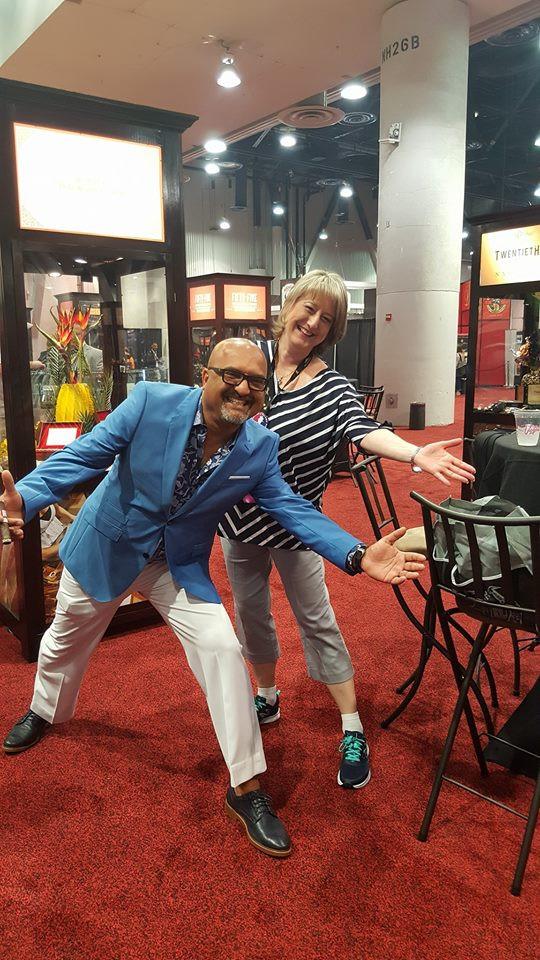 Nancy with Nish Patel