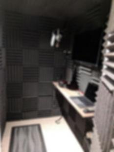 recording studio equipmet
