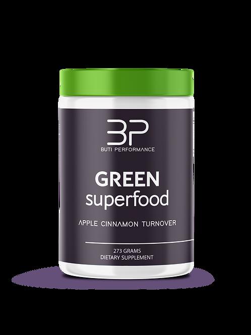 Green Superfood- Apple Cinnamon Turnover