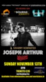 Joseph Arthur Dublin Music Concerts