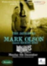 Mark Olson Poster Americana Music