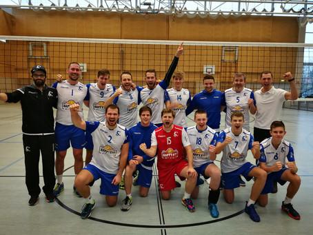 Letztes Spiel im Grunddurchgang 2018/19 - VC Wolfurt