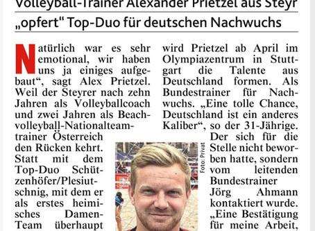 Alex Prietzel zukünftig in Deutschland