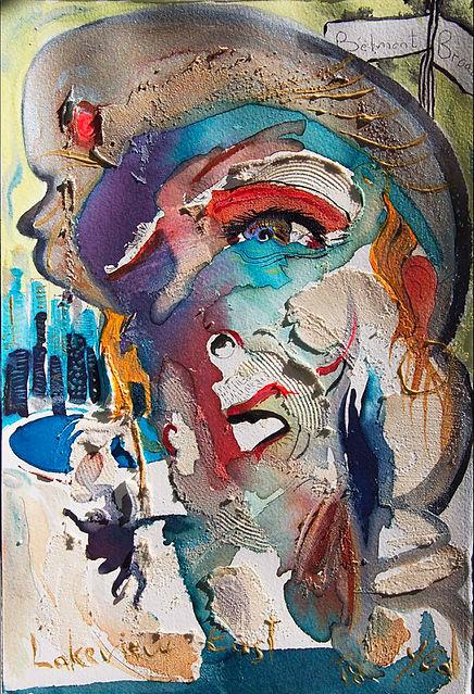 לייקוויו איסט - צייר יורם גל  תערוכה -או