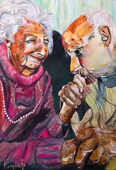 אריכות ימים - צייר יורם גל  תערוכה -אוטו