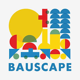 Bauscape-כרזה לתערוכה - עיצוב אבישר גולד