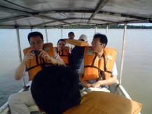 Passeio de Barco no Rio Branco