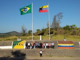 Dia na Fronteira Brasil - Venezuela