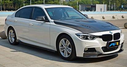 Carbon Fibre Front Spoiler BMW F30 Mtech