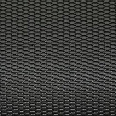 Honeycomb Racing Mesh Black Aluminum