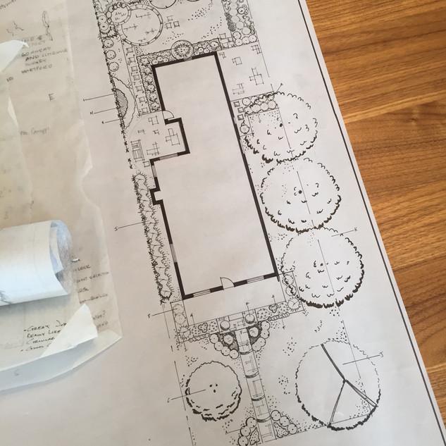Handrawn Landscape Plans