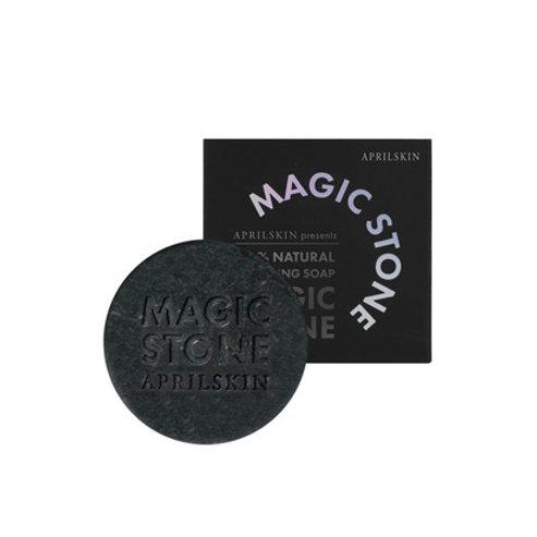 Aprilskin Magic Stone Black Soap