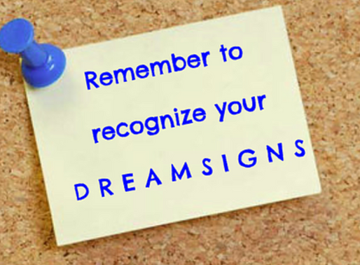What to do when you miss a dreamsign