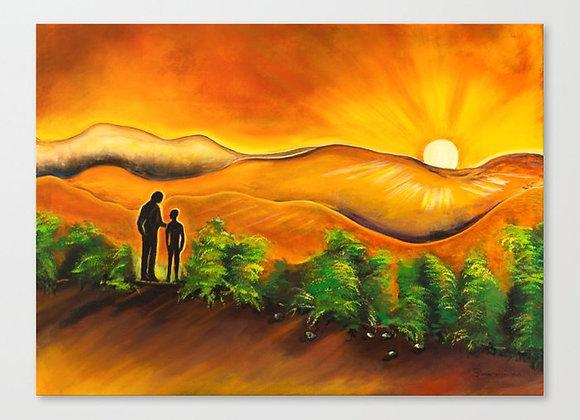 "Solar Feeling Canvas 18""x13"""