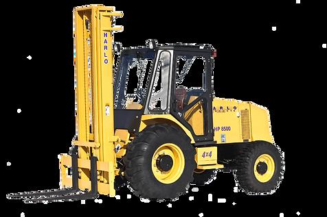 Rough terrain forklift, construction forklift, all terrain forklift, 8000lb forklift, 8500lb forklift, field forklift, pipe forklift, pipe clamp forklift