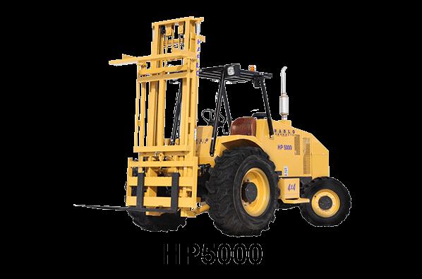 HARLO HP5000 - Rough Terrain Forklif