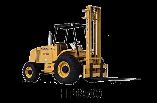 HARLO HP6500 - Rough Terrain Forklif