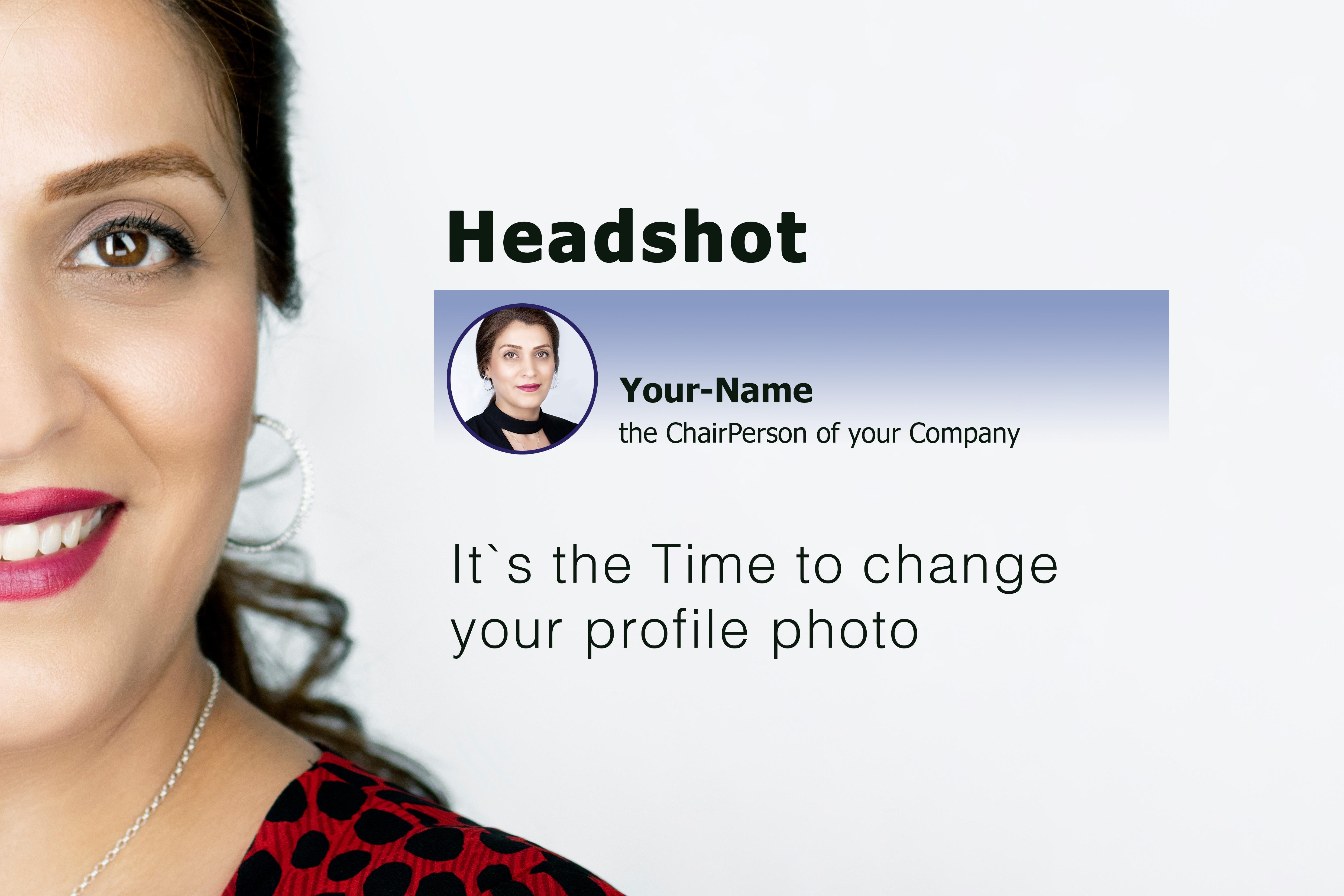 Headshot White Background