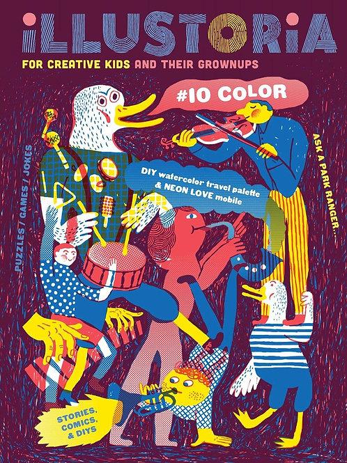 Illustoria #10 - Colour