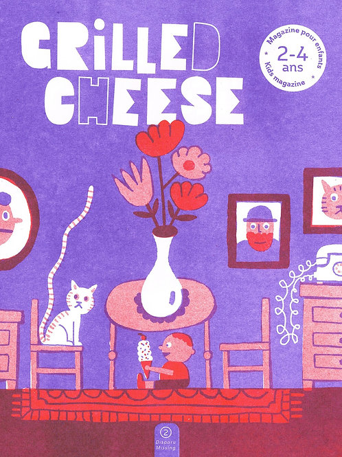 Grilled Cheese [2-4] Issue 2 - Missing